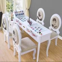 Простой маленький стол для ногтей в европейском стиле специальная