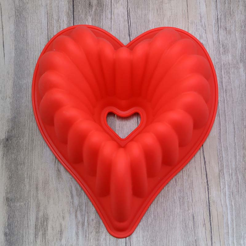 Moule Silicone Savon Heart Mallen Kichen Bakery Tool Bases Para Pasteles Articulos De Reposteria Ozdoby Na Torty Cake Accesorios