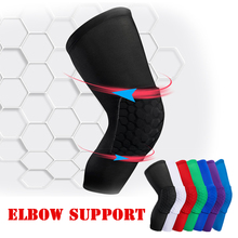 Sports Basketball Knee Pads Sleeve Honeycomb Brace Elastic Kneepad Protective Gear Patella Foam Support Volleyball Support цена 2017