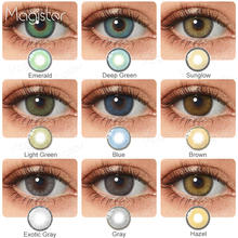 2pcs Pair Contact Lenses Colored Contact Lenses for Eyes Colored Yearly Blue Brown Colorful Beauty Eye Contact Lenses Eye Color cheap PINK MAGIC CN(Origin) 14 0-14 2 Two Pieces 0 06-0 15 mm PHEMA Beautiful Pupil Contact Lenses Blue Brown Green China 8 5mm
