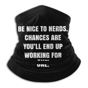 Будьте милыми с болотами. Шанс, что вы закончите работать на один.-цитата Билла Гейтса-плакат Qwob графикс 3d бандана обогреватель для лица и шеи