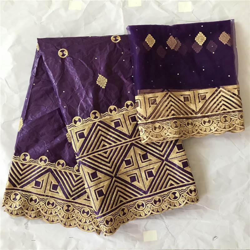 Wholesale cotton bazin riche brocade bule nigerian lace fabric india bazin riche fabric jacquard brocade lace 5+2Y ! WX20615