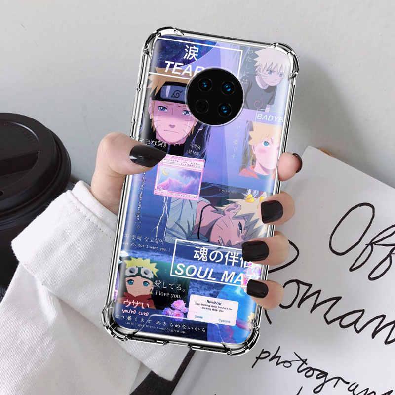 TEST çantası Huawei Y9s Y9 başbakan Y7 Y6 Y5 2019 Mate 30 5G 20 Pro 10 Lite hava yastığı anti telefon Coque Casos
