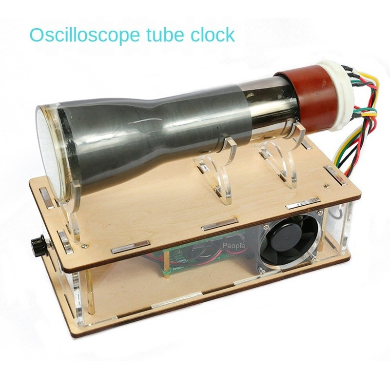 Creative Oscilloscope Tube Clock 8SJ31J Oscillograph Driver Board Oscillographic Clock DIY Kit