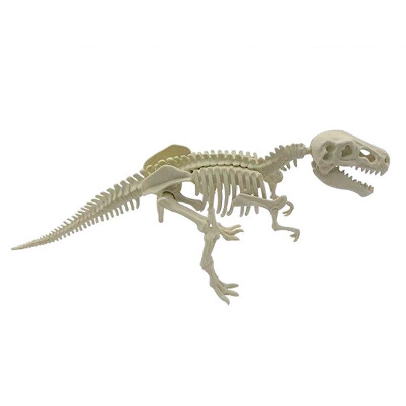 arqueológica, montagem diy, tiranossauro, modelo de escavação de brinquedo para crianças