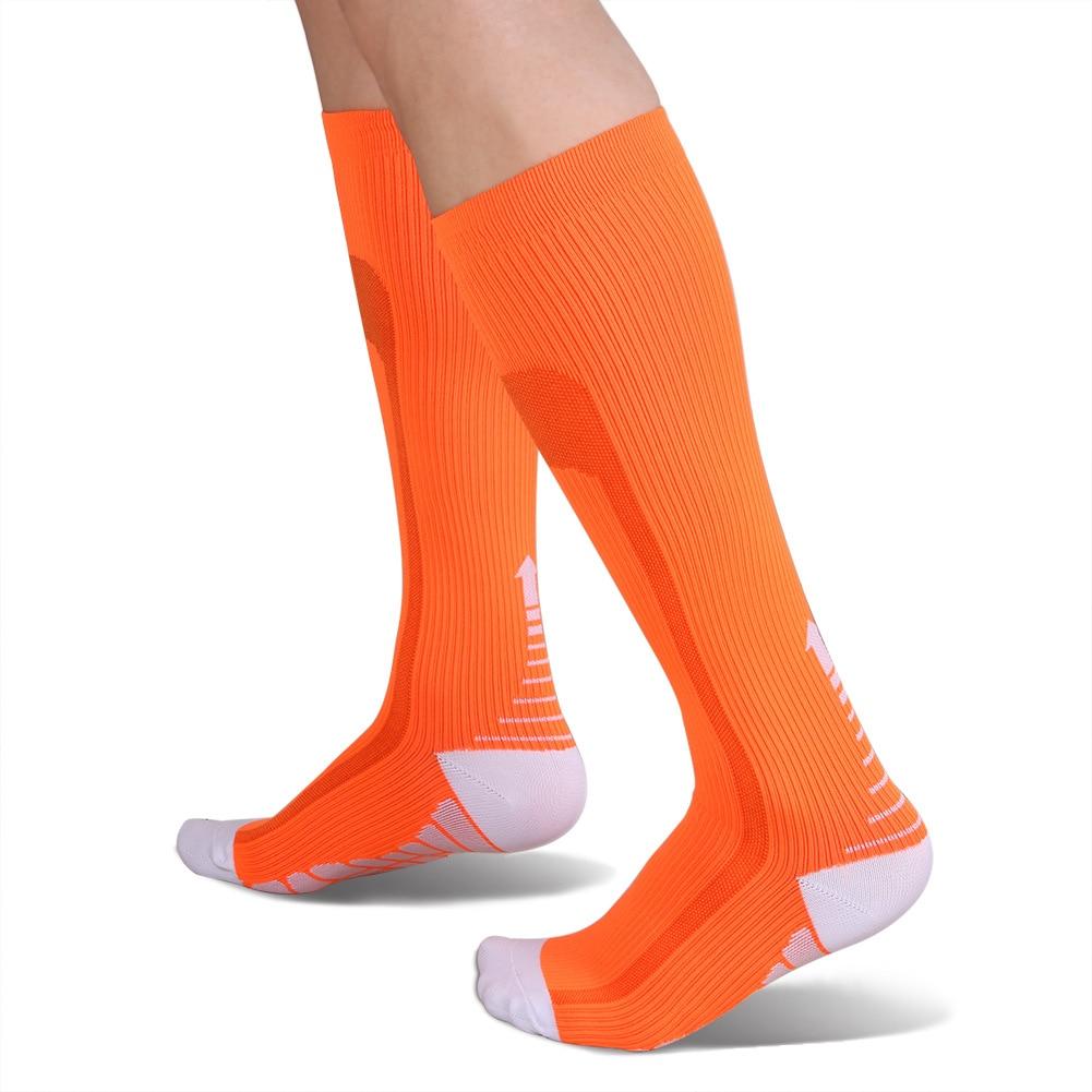 Outdoor Climbing Elastic Compression Socks Unisex Cycling Calf Length Socks