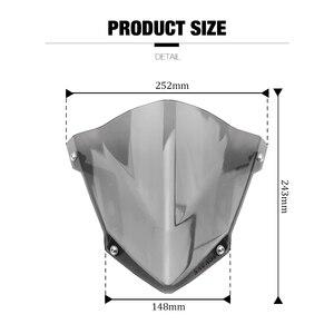 Image 5 - Windshield Pare Brise For YAMAHA MT07 MT 07 MT 07 FZ07 FZ 07 2018 2019 2020 Motorcycle Accessories Windscreens Wind Deflectors