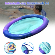 Hot Swim Spring Float Mesh for Pool Lake Swimming Floating Inflatable Bed DO2