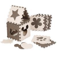 120*92.5cm 12PS Of Eva Children's Mats Foldable Cartoon Baby Play Mat Three-dimensional Puzzle Tangram Sudoku Magic Cube