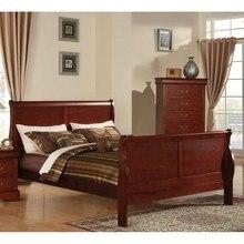 Avrupa tarzı ahşap king-size yatak ve kraliçe yatak yatak odası mobilyası