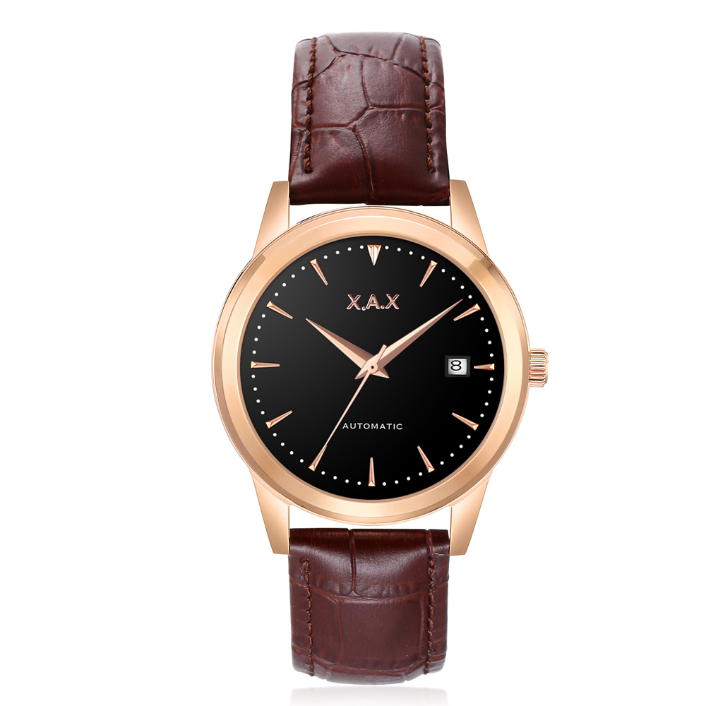 Image 5 - X.A.X Swiss Design Auto Mechanical Watches Self Wind Automatic Watch Men-in Mechanical Watches from Watches