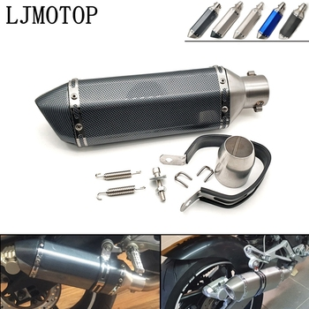 36-51mm Universal Modified Motorcycle Exhaust Muffler with DB Killer For KTM 65 85 150 250XC 200XC-W 200EXC 125EXC 250SX-F