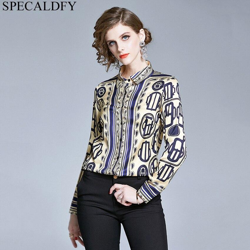 2020 Spring Summer Fashion Runway Style Brand Shirt Women Long Sleeve Print Vintage Blouses Tops Casual Fashion Blusa Feminina Shirt Aliexpress