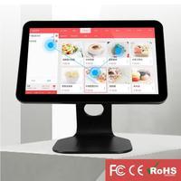 Aluminum Alloy Base All in one Touch Screen Restaurant Milk Tea Shop POS Cash Register Machine