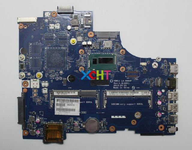CN 0W6XCW 0W6XCW W6XCW w i5 4200U CPU VBW11 LA 9984P for Dell Inspiron 17R 5737 NoteBook PC Laptop Motherboard Tested
