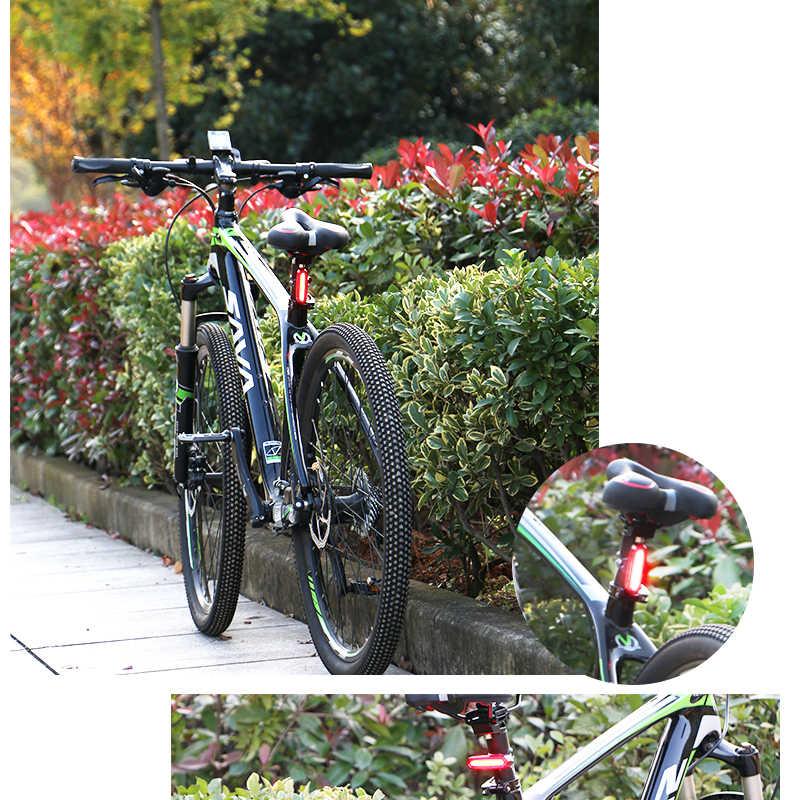 Roue vers le haut nouveau vélo lumière vélo torche lampe vtt vélo de route étanche Usb rechargeable Led avant feu arrière ensemble cadeau queue arrière lumière