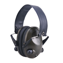 Solid Active Adjustable Shooting Electronic Earmuffs Portable Noise Reduction Hunting Hearing Protection Foldable Ear Protector