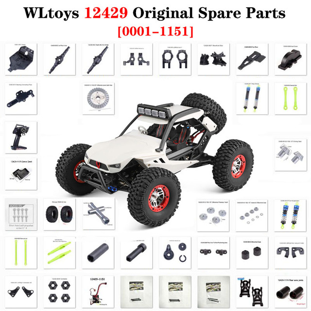 RC Upgrade Shock Absorber Parts for Wltoys 12428 12423 12429 1//12 RC Crawler