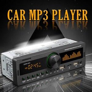 Kebidumei Bluetooth Авторадио автомобильный стерео радио FM Aux вход приемник SD USB SWM-80A 12V In-dash 1 din автомобильный MP3 мультимедийный плеер