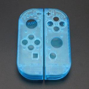 Image 3 - Custodia JCD custodia Cover per Nintendo Switch NS NX Joy Con Controller custodia protettiva di ricambio trasparente rosso blu