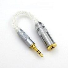 Original DUNU 2,5mm hembra a 4,4mm macho adaptador equilibrado de alta fidelidad auricular equilibrado interfaz de Audio para reproductor Sony