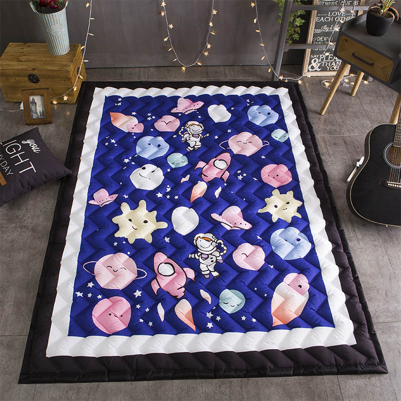 Baby Developing Crawling Mat Infant Activity Playmat Portable Washable  Baby Room Accessories Carpetlarge BXX030