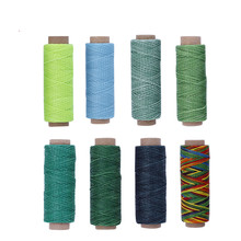 MIUSIE 150D 50m Sewing Thread Wax Line DIY Handmade Wear-Proof Leather Needlework Fiber Yarn Tool Hand Sewing Accessories