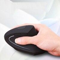 Versão de carregamento do mouse sem fio vertical utilitário computador gaming mouse legal barbatana de tubarão ergonomia mão esquerda e direita