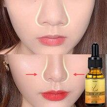 Nariz para cima aumenta o colágeno do óleo da rinoplastia firmando o osso nasal hidratante remodelação natural puro cuidado do nariz fino nariz menor