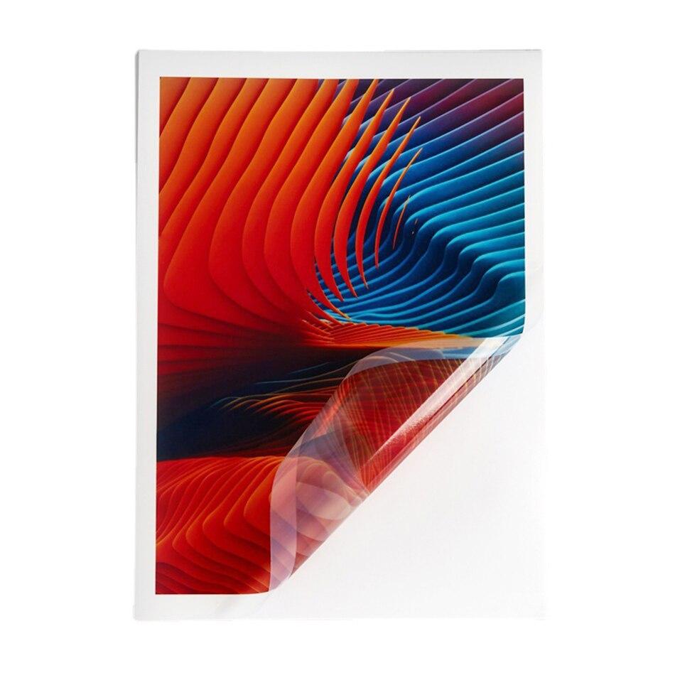 Печать наклеек Бумага для струйного принтера Водонепроницаемый прозрачный самоклеящийся виниловый стикер Бумага A4 полный лист этикетки