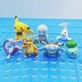 Фигурки игрушечные Покемон, оригинальные Аниме фигурки, маленькие украшения для торта, карманный монстр Пикачу, милый Декор для детской ком...
