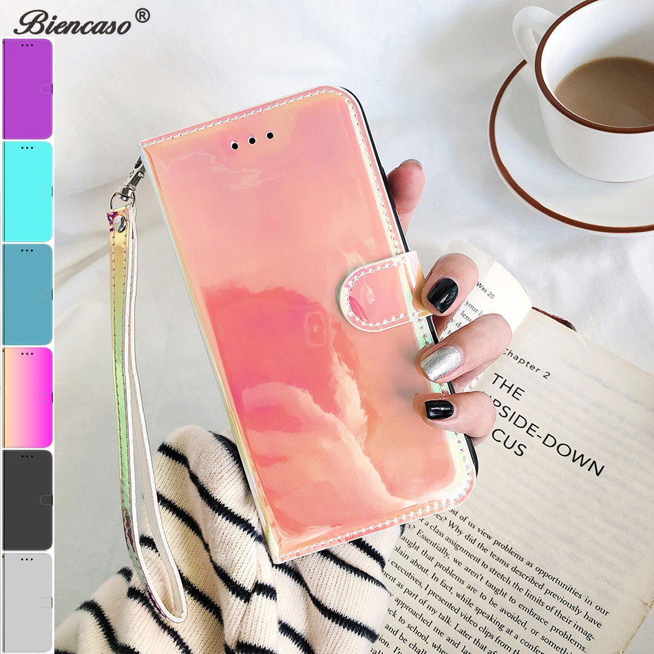 <font><b>Mirror</b></font> Surface Cover For <font><b>Huawei</b></font> p40 P30 Pro Honor 10 20 Lite 10i 20i <font><b>P</b></font> <font><b>smart</b></font> 2020 Leather <font><b>Case</b></font> Honor 8A 8s Y5 <font><b>2019</b></font> Y6 Y5P Y6P image