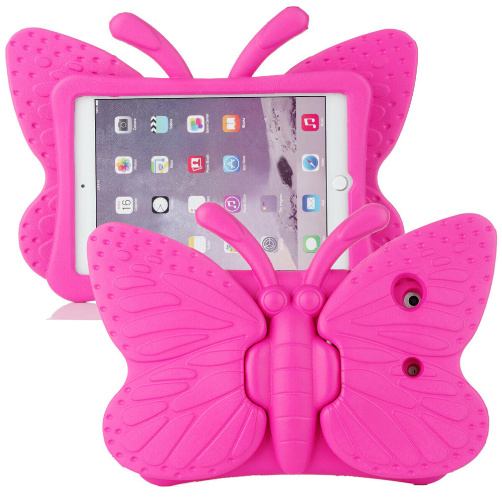 Black Black for iPad Air 4 Case 2020 A2316 A2324 EVA Safe Kids Handle Stand Tablet Case Cover