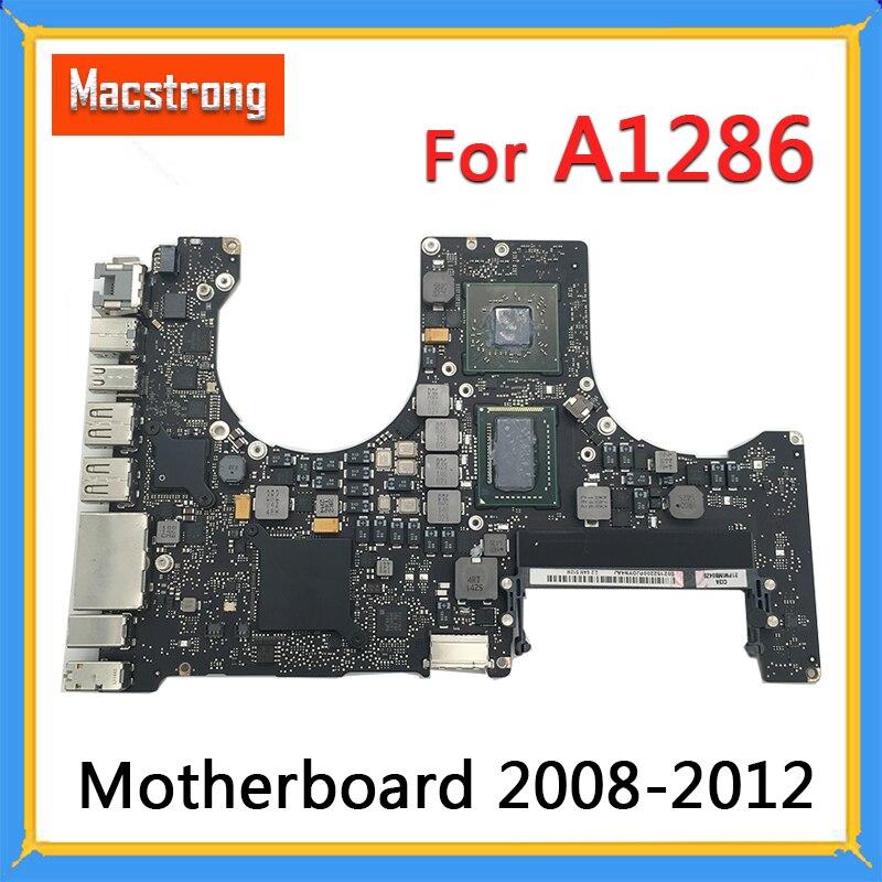Getest Originele A1286 Moederbord Voor Macbook Pro 15