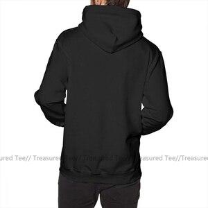 Image 3 - Sudadera con capucha inicial D para hombre, Jersey de algodón Blanco, largo, Otoño, gris