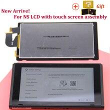 Original neue lcd bildschirm ersatz für Nintend Schalter LCD Display + touchscreen voll ausgestattet montage