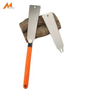 Pull ручная пила с двойным краем зубчатое Запасное лезвие многофункциональное для деревообработки древесины