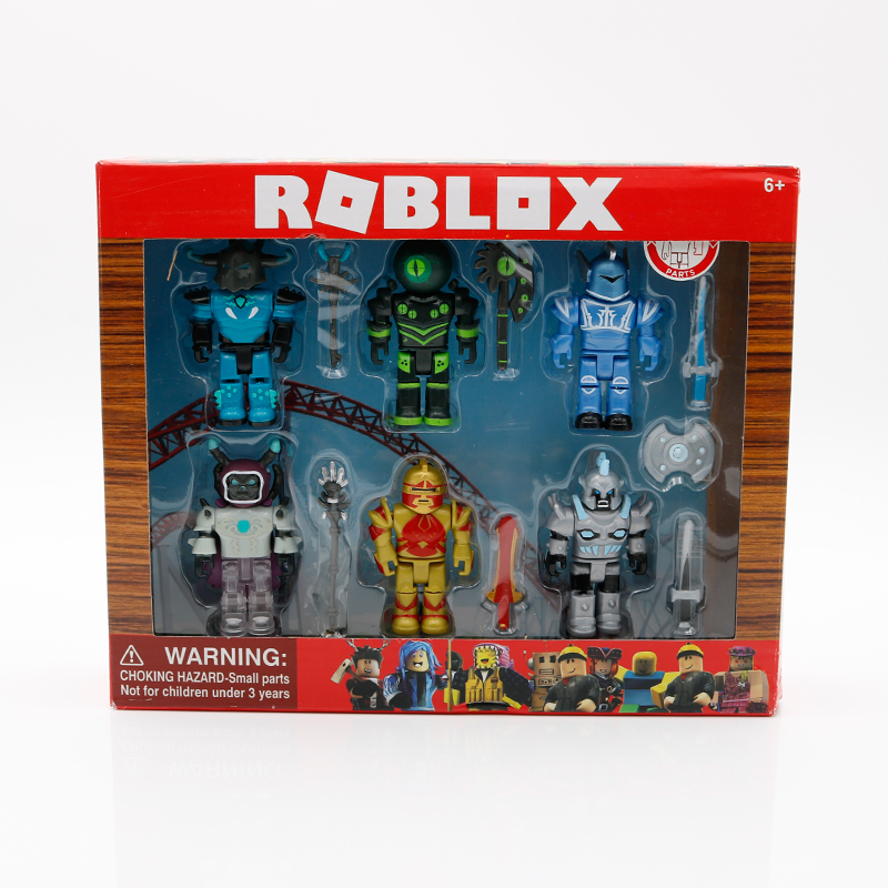 6 ROBLOX Champions Set 7cm Figures Collection Fun Kid Children Toy Play Game New
