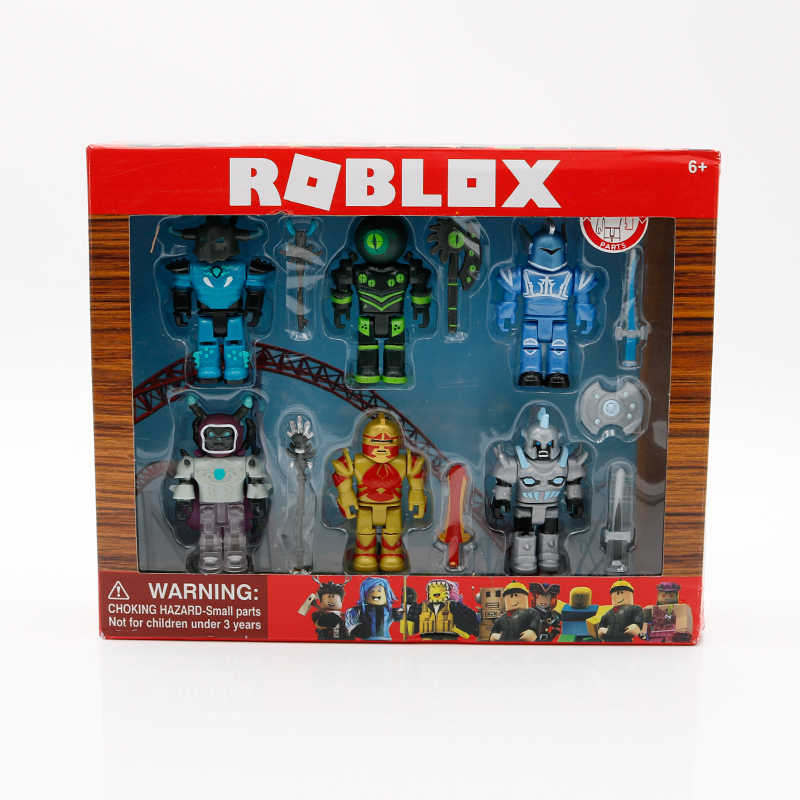 ROBLOX Champions Six Figure Pack 7cm 모델 인형 소년 어린이 장난감 jugetes 인형 컬렉션 Figuras Christmas Gift for Kids