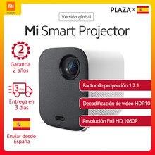 Xiaomi – Vidéoprojecteur Smart Projector 120 pouces version internationale, mini home-cinéma, Full HD 1080 P, technologie DLP, 500 lumens ANSI, Dolby Audio, box TV, Assistant Google