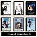 Эдвард ножницы orhands, классический фильм, HD звезда, настенное искусство, домашний декор, холст, живопись, искусство, скандинавский декор, бар, ...
