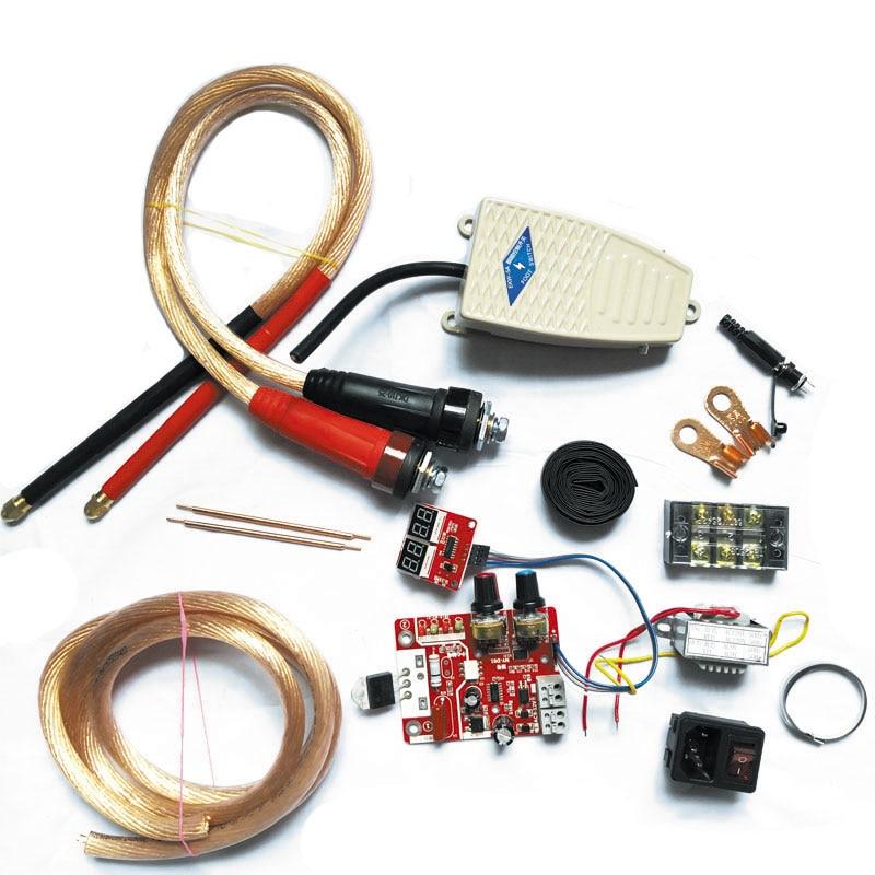 40A Single Pulse Spot Welder DIY Assembly Kit Spot Welder Transformer Controller