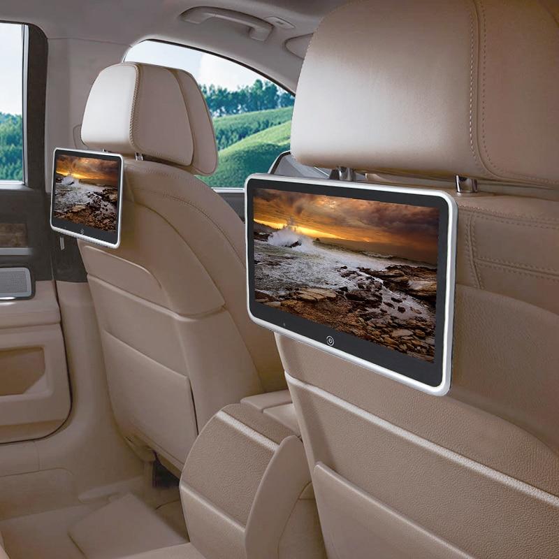 10.1 Inch Car Headrest Monitor Auto Multimedia MP4 MP5 Video Player TFT HD LCD Display Touch Screen 800x480 Bluetooth/USB/FM
