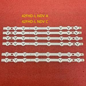 Image 1 - 6pcs LED תאורה אחורית רצועת עבור Hitachi 42HXT12U 42HXT42U 42HXT42UH 42LED450S 42LED400S 42PFL3008H12 L42510FHD PVR TE42182N25F1C10D
