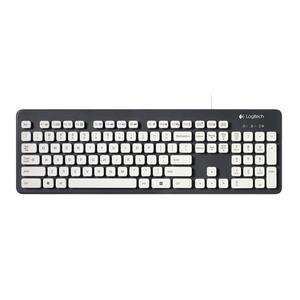Image 1 - Logitech K310 Washable USB Wired Keyboard 108 Keys Gaming Office Keyboards For Windows XP Vista 7 8 Desktop Laptop PC Computer