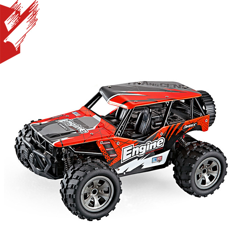 Flytec 2019 New Products 1/18 High-Speed Shock Absorbers Drop-resistant Off-Road Vehicle Children Remote Control Car Toy Holiday