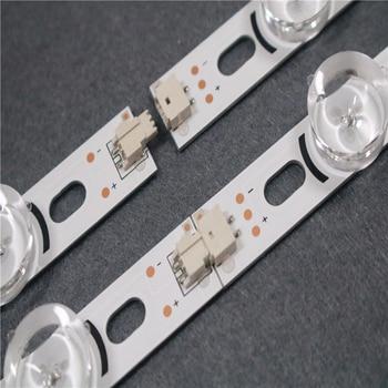 New 9 LEDs 777mm LED Backlight strip For LG 39 inch TV 39LN5300 39LN5400 HC390DUN-VCFP1-21XX innotek POLA2.0 39A/B type 100%new 8 pcs set 4a 4b led backlight bar for tv hc390dun vcfp1 21x 39ln5400 39la6200 lg innotek pola 2 0 pola2 0 39a b type