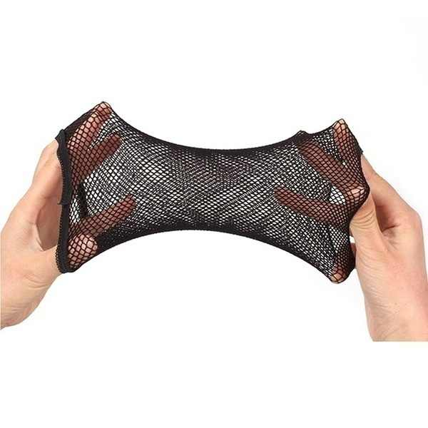 2 uds malla elástica gorro peluca elástico pelo redecilla redes para Cosplay moda
