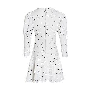 Image 5 - Twotwinstyle verão polka dot vestido para mulher v pescoço puff manga cintura alta babados mini vestidos feminino fasihon roupas 2019