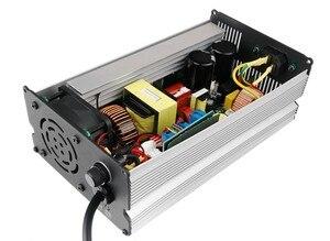 Image 5 - 672W 67.2V 10A chargeur 60V Li ion batterie chargeur intelligent utilisé pour 16S 60V Lithium Li ion e vélo vélo électrique vélo batterie